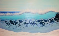 Showcase of surf art by Californian surf artist Marc Christian Kunze on Club Of The Waves Travel Around The World, Around The Worlds, Surf Art, Seascape Paintings, Tahiti, Oil On Canvas, Art Projects, Surfing, Waves