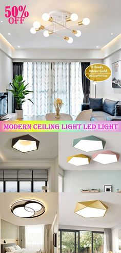Design chandeliers suitable for all occasions such as living room, bedroom, dining room, etc., to add temperature and color to your interior, now the special offer, come and see! Room, Recessed Ceiling Lights, Interior, Home Decor Decals, Modern Ceiling Light, Ceiling Lights, Ceiling Lights Diy, Home Decor, Interior Design