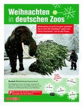 Weihnachten in deutschen Zoos