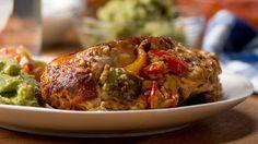 One-pan Chicken Fajita Bombs by Tasty