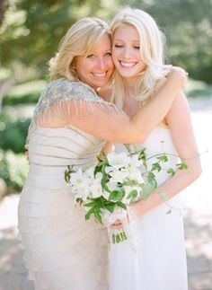 When going through your wedding photo proofs, don't automatically reject any in which your eyes are closed! An eyes-closed photo can convey a great sense of emotion; we love the look of pure joy and gratitude on this bride's face. Formal Wedding, Wedding Pics, Wedding Attire, Wedding Bride, Wedding Dresses, Wedding Ideas, Bride Dresses, Wedding Designs, Wedding Blog