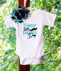 f488adc171d Happy First Father s Day Father s Day by SouthernBelleBows on Etsy