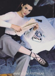 Anne Klein in Vogue US, August 1988