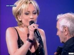 """Patricia Kaas & Charles Aznavour ~ """"Que c'est triste Venise"""" (22 05 2004)"""