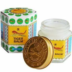 Tiger Balm Ointment HR Rub White Cool 30g by TigerBalm. $11.45. Many people are familiar since childhood. Many families used to relieve symptoms such as stuffy nose, flatulence and itch due to insect bites, just apply lightly. The area is a natural herbal formula to help relieve nasal congestion, headache or other discomfort. Relieve pain, swelling and inflammation. Due to ...