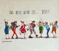 Barbara Freundlieb - DAS BESTE ALTER IST ... JETZT! - Passe-Partout-Bild