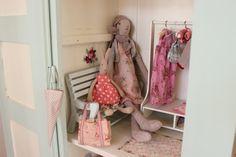 Maileg Rabbit, Bunny and Furniture Haunted Dollhouse, Diy Dollhouse, Maileg Bunny, Danish Design, Contemporary Interior, Cute Kids, Rabbit, Diy Crafts, Dolls