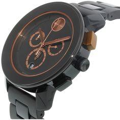 Movado Men's Bold 3600271 Black Resin Swiss Quartz Watch