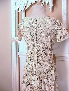 irish crochet dress - Recherche Google