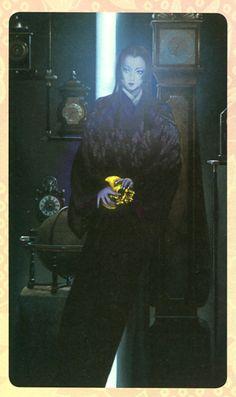 Oichi (Oda Nobunaga's sister).  illustration by Kimiya Masago.