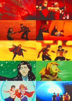 Young Justice → Season 1 + Colors