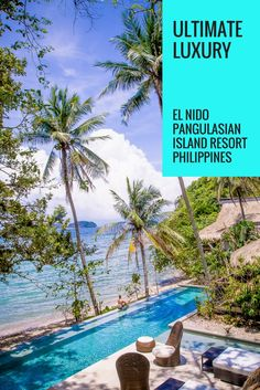 If you are looking for paradise, a visit to El Nido in the Philippines is a must. For a truly luxurious attraction, don't miss a stay at El Nido Resorts Pangulasian Island. | www.eatworktravel.com - The luxury, adventure couple!