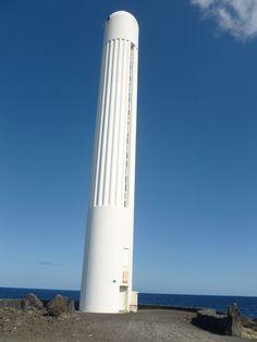 Faro de Salamera en la isla de La Palma. Islas Canarias¡¡