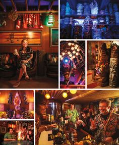 From Rocker Dives to Tiki Wonderlands, Portland's Most Amazing Home Bars
