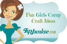 Fun Girls Camp Craft Ideas