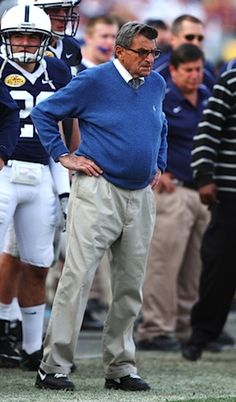 JoePa...84 years old and still coaching Penn State football...45 years and still going strong. WE ARE....PENN STATE!