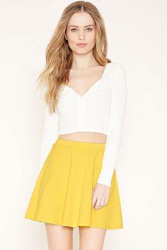 Mini Skater Skirt | Forever 21 - 2000167700