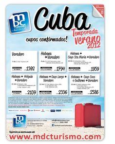 Publicidad para MDC Turismo.