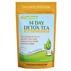 Hint Wellness 14-Day Detox Tea - BestProducts.com