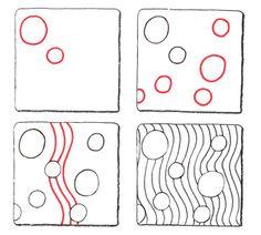 Zentangle Patterns for Beginners   Zentangle Patterns Tutorial Original zentangle pattern