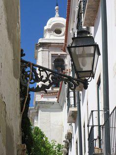 Lisboa, vielas de Alfama - Portugal