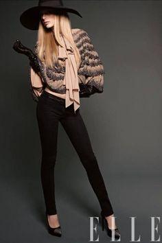 Taylor Swift para Elle US, marzo 2013