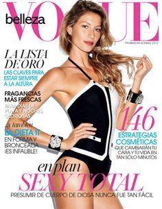 Vogue México/Latino-América Belleza S/S 2012: Gisele Bündchen by Terry Richardson
