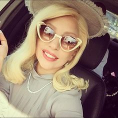 """Photo: FameFlyNet Lady Gaga couldn't be more excited about celebrating her best friend's wedding. In New Orleans, Louisiana, the singer has really taken with the Southern charm for the festivities, blending in with the environment wearing large pearls, big hats, and oversized sunglasses. Photo: @ladygaga/Instagram """"Watching your best friend get married, these are the specialist times in my life. Seeing happiness in the lives of all my friends,""""she wrote on Instagram ."""