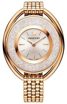 Looking for Ladies' Swarovski Crystal Crystalline Oval Rose Gold-Tone Bracelet Watch 5200341 ? Check out our picks for the Ladies' Swarovski Crystal Crystalline Oval Rose Gold-Tone Bracelet Watch 5200341 from the popular stores - all in one. Bracelet Swarovski, Swarovski Watches, Swarovski Jewelry, Mesh Bracelet, Metal Bracelets, Bracelet Watch, Swarovski Swan, Swarovski Crystals, Stainless Steel Mesh