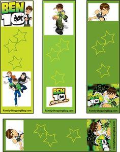 TUDO PRA SUA FESTA: Festa Ben 10 etiquetas para imprimir