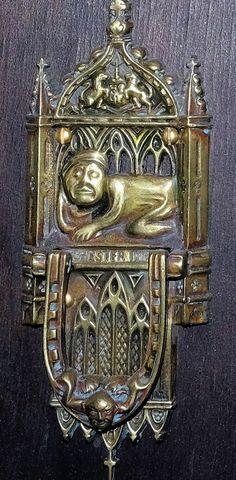 Antique brass door knockers | Collectors Weekly