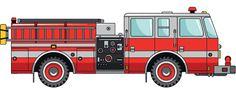 Fire Truck Wheelchair Costume Child's