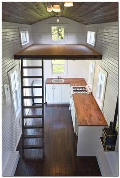 """It is a lot simpler to dwell in a very small house when you're in a lovely location,"""" she states. Not every very small house can be parked on a lovely, sunny be"""