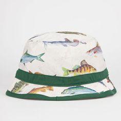 YEA.NICE Fish Mens Bucket Hat 226876423 | Bucket Hats | Tillys.com