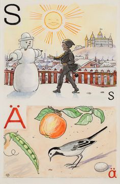 Find artworks by Elsa Beskow (Swedish, on MutualArt and find more works from galleries, museums and auction houses worldwide. Elsa Beskow, Edith Holden, Fantasy Illustration, Vintage Children's Books, Watercolor And Ink, Childrens Books, Illustrators, Artsy, Alphabet