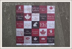 Crafting and Creativity: Canada Day Canvas Diy Signs, Wood Signs, Canada Day 150, Canada Day Crafts, English Day, Canada North, Canadian History, True North, Camping Crafts