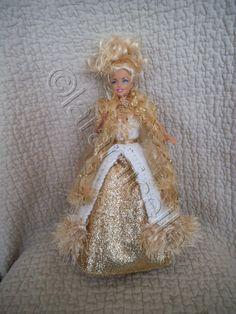 Free tutorial Barbie princess dress Aura