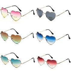 0e7b0ac2a1 Amazon.com  Dollger Heart Sunglasses Thin Metal Frame Lovely Aviator Style  for Women(