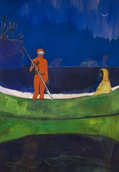 Spearfishing, Peter Doig