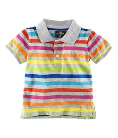 fun colorful polo. only $6.95 at h & m