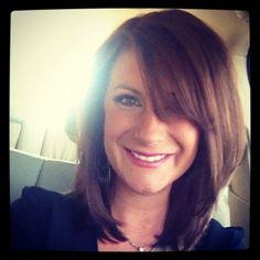 Shoulder length #Straight Hairs  http://straighthairs.blogspot.com