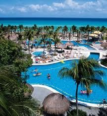 Playa Del Carmen Riu Yucatan where Josh and I spent out 1st and 2nd anniversary