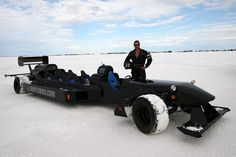 The monster truck limo brings power, but not speed. Luckily, if you need luxury in a hurry there's this Indycar-style GP limo by Canadian Michael Pettipas. The world's fastest legal street limousine with 400-hp performs on the track, too. Those interested can also rent out the limo for track runs and seat six passengers in the back while they do hot laps.