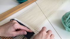 This article will teach you the basic loom weaving patterns and some different weaving techniques that every beginner should know. Card Weaving, Weaving Art, Tapestry Weaving, Loom Weaving, Weaving Wall Hanging, Wall Hangings, Circular Loom, Fleece Crafts, Basket Weaving Patterns