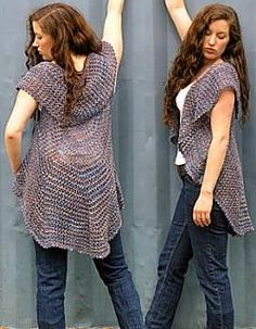 Crochet Sweaters: Crochet Cardigan Circle Pattern