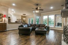 Sought after 2nd bdrm down,dual staircase,gourmet kit w-Viking appl,pull out spice rack,New micro & dishwasher,3 fireplaces,pre-wired for sound in & out   Flat for Sale   Gentle Creek- Prosper ISD