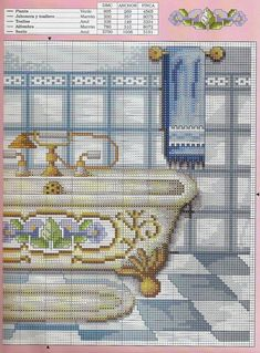 Inspiration for a decorated bathtub