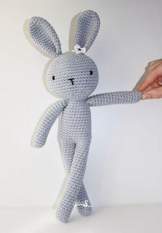 Conejo amigurumi, Amigurumi crochet muñeco,regalo niños, conejo tejido, juguete conejito.