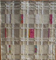neutral quilts | Interesting almost neutral quilt | Quilts