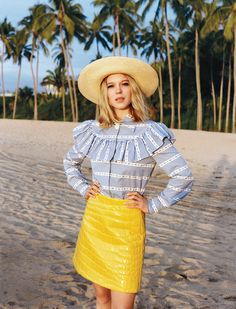 31bbeac438fa Léa Seydoux in the Best Hats for Summer